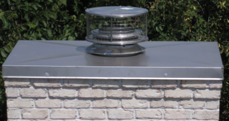 Chimney Cap Carmel Chimney Flashing 46032 The David