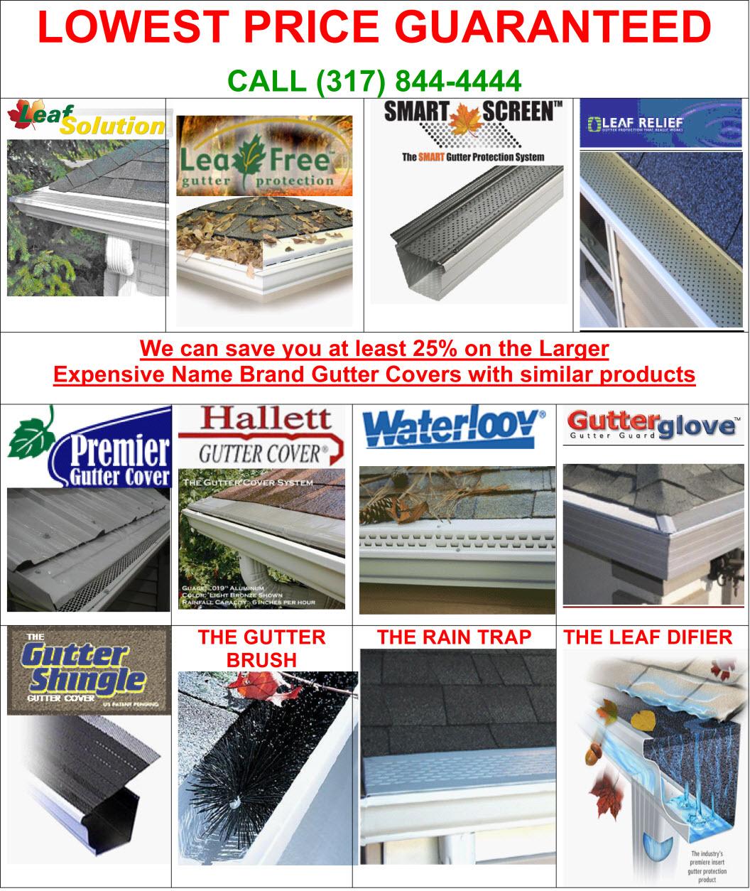Gutter Covers 46032 Gutter Screens Carmel Gutter