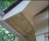 Soffit Repair After